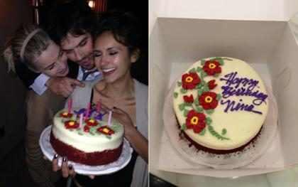 Ian Somerhalder comemora aniversário de Nina Dobrev após People's Choice