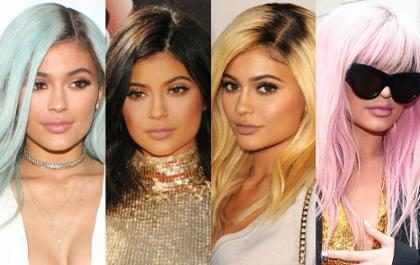 Los 35 cambios más radicales que Kylie Jenner le ha hecho a su cabello (+ Fotos)