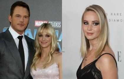 ¿Jennifer Lawrence tuvo que ver en el divorcio de Chris Pratt y Anna Faris?