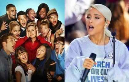 Esta estrella de Glee salió del closet con la ayuda de Ariana Grande