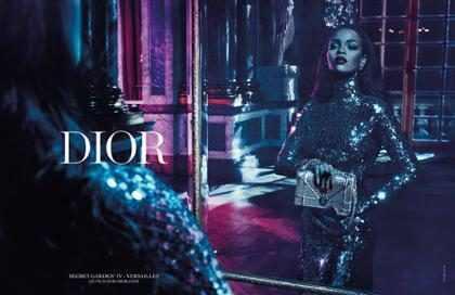 Rihanna aparece poderosa na campanha Secret Garden da Dior