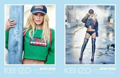Britney Spears é anunciada como novo rosto da Kenzo