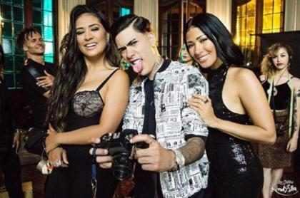Kevinho grava clipe de Ta Tum Tum com Simone e Simaria