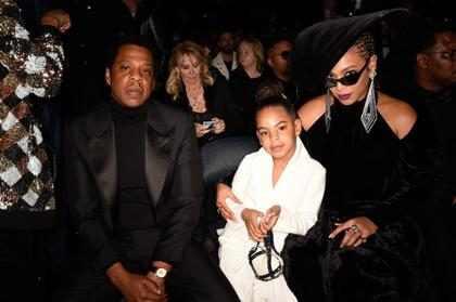 Blue Ivy Carter ofertó miles de dólares en una exclusiva subasta con Beyoncé y Jay Z