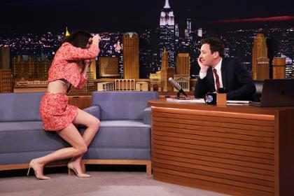 Kendall Jenner convirtió a Jimmy Fallon en modelo de Vogue y el resultado fue hilarante (+ Video)