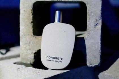 Marca lança perfume com cheiro inspirado no concreto