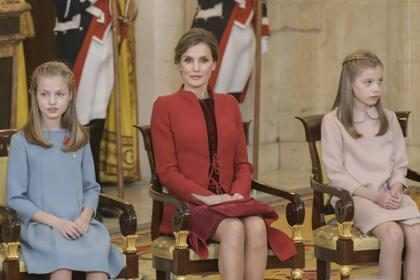 Letizia hace lo posible porque sus hijas no repitan el incidente con Sofía