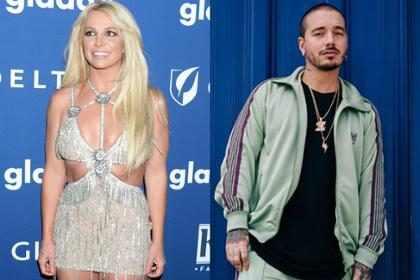 Britney Spears le debe su tonificada figura a J Balvin ¡Mira las pruebas!