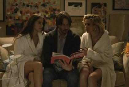 El regreso de Keanu Reeves es sexy y terrorífico… (+ Video)