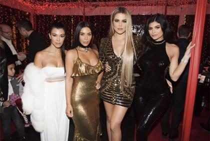 Looks para usar no Natal inspirado nas Kardashians-Jenner