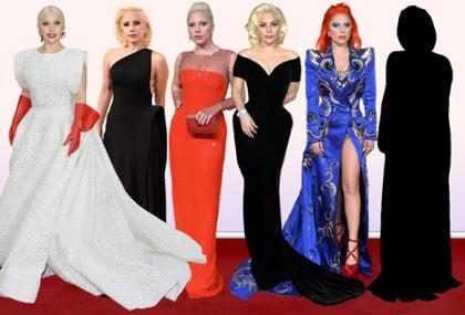 As apostas de looks de Lady Gaga no Oscar 2016