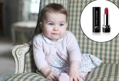 Princesa Charlotte ganha batom em sua homenagem