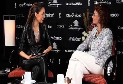 Sophia Loren llega a <em>Coffee Break</em> (+Video)