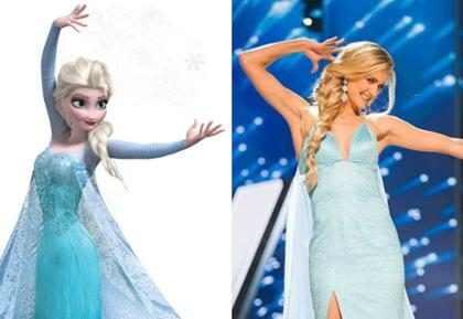 ¡Algunas candidatas del Miss Universo se convirtieron en Princesas Disney! (+ Fotos)