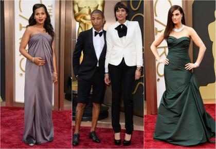 Oscar 2014 e as famosas mais mal vestidas