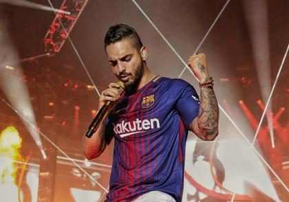 ¡En exclusiva! Así fue el encuentro de Messi y Maluma en Barcelona ¡Míralos!