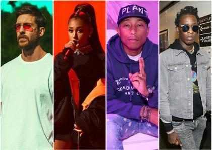 Calvin Harris anuncia música com Ariana Grande, Pharrell e Young Thug