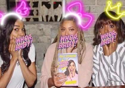 Beyoncé se reencontra com Kelly Rowland e Michelle Williams
