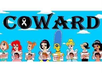 Famosas caricaturas femeninas denuncian violencia doméstica (+ Fotos)