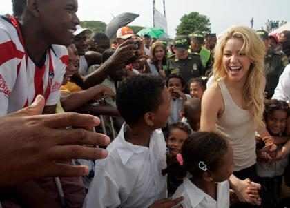 Fundação de Shakira é eleita a melhor escola pública da Colômbia
