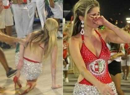 Os maiores tombos das famosas no Carnaval