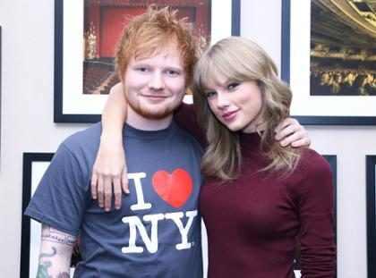 Taylor Swift reaparece para decirle unas cuantas cosas a Ed Sheeran