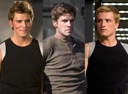 Katniss est&aacute; rodeada de puros galanes en <em>Los Juegos del Hambre: En Llamas</em> &iexcl;Con&oacute;celos!