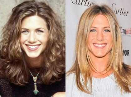 O cabelo de Jennifer Aniston ao longo dos anos