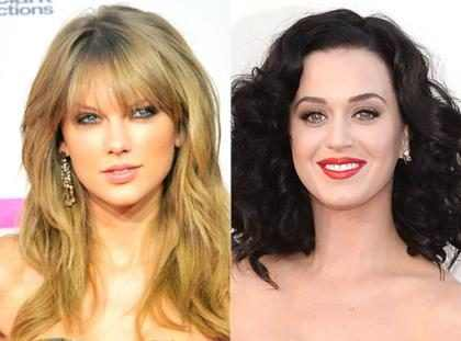 &iexcl;Momento! &iquest;Katy Perry aparece en el video de <i>End Game</i> de Taylor Swift?