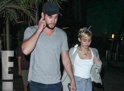 Liam Hemsworth é acusado de trair Miley Cyrus outra vez