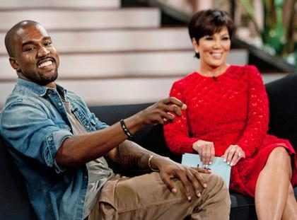 Kanye West fala sobre primeira foto da filha com Kim Kardashian