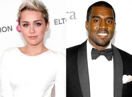 Miley Cyrus indicó que Kanye West la ayudó a calmar sus nervios antes de su presentación en los VMAs