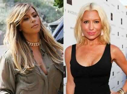 Kim Kardashian desistiu de malhar depois do nascimento da filha, North