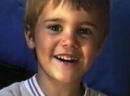 (+ Video) Justin Bieber de niño ya manejaba las finanzas…