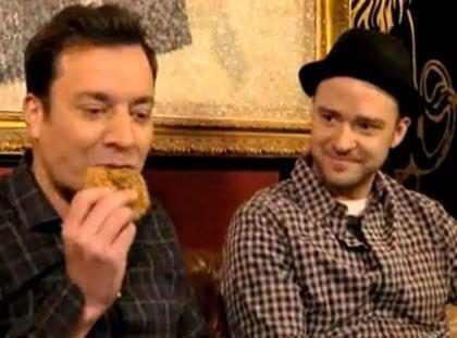 (+ Video) Justin Timberlake y Jimmy Fallon tuvieron una #conversación