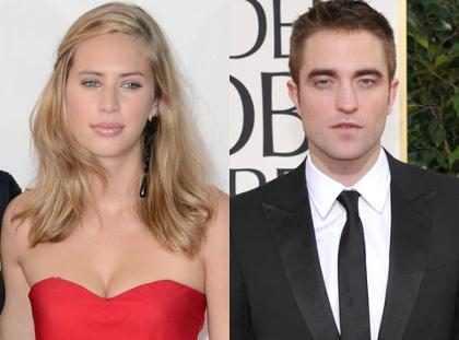 Rob Pattinson flagrado com ex depois de encontro com Kristen Stewart