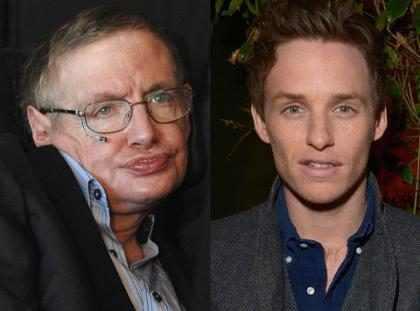 Stephen Hawking parabeniza Eddie Redmayne por Oscar 2015