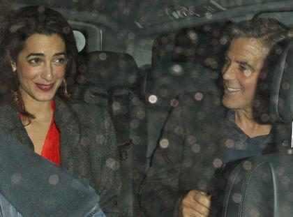 George Clooney visto con una mujer misteriosa (+ Fotos)