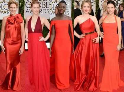 De lo sublime al horror en la alfombra roja de los Golden Globes