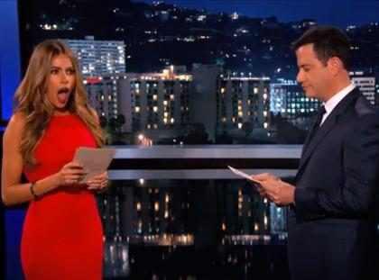 Sofía Vergara asegura que su pene es más grande que el de Jimmy Kimmel… (+ Video)