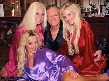 Hugh Hefner está muy grave de salud…