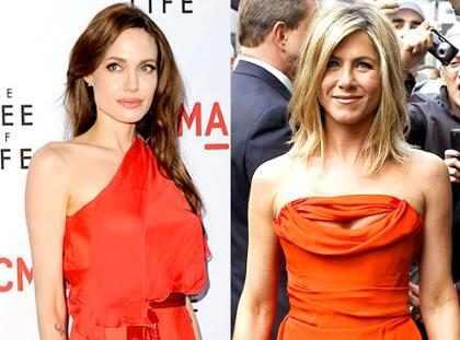 ¡Así fue el legendario y último encuentro que tuvieron Angelina Jolie y Jennifer Aniston! (+ Fotos)