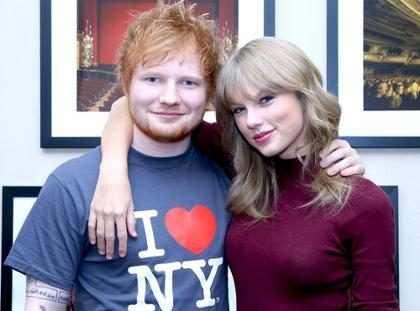 &iexcl;Taylor Swift y Ed Sheeran nos llevan al detr&aacute;s de c&aacute;maras de <em>End Game</em>!