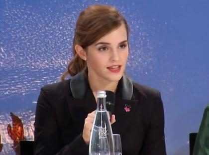 Emma Watson fará chat ao vivo respondendo perguntas de fãs