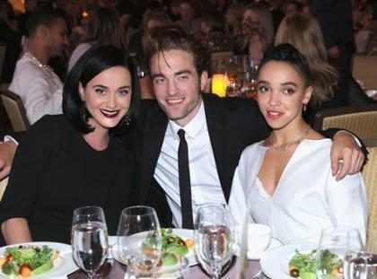 Robert Pattinson tem recebido apoio de Katy Perry após término com FKA Twigs