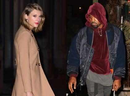 Internet tiene la teoría de que Taylor Swift copió a Kanye West para su nueva canción