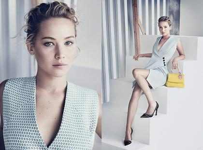 Jennifer Lawrence estrela nova campanha da Dior