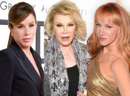Melissa Rivers asegura que Kathy Griffin irrespetó el legado de su fallecida madre, Joan Rivers