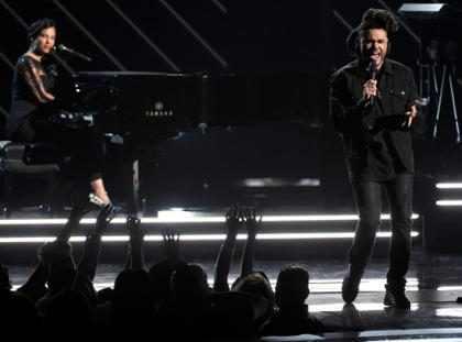 The Weeknd e Alicia Keys vão se apresentar no Grammy 2017