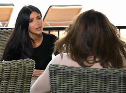 Kim Kardashian diz que Caitlyn Jenner é injusta por falar de Kris Jenner